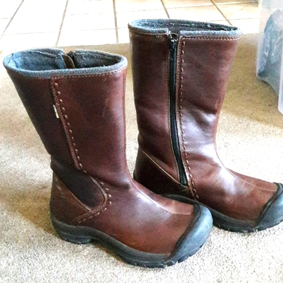 Keen leather boots size 6 and 1/2
